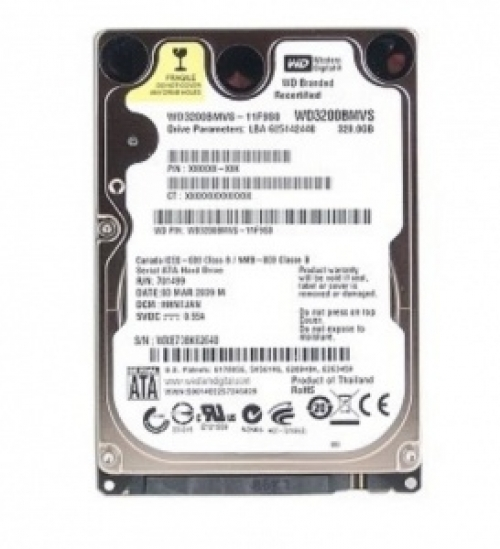Hdd Laptop Western-250Gb
