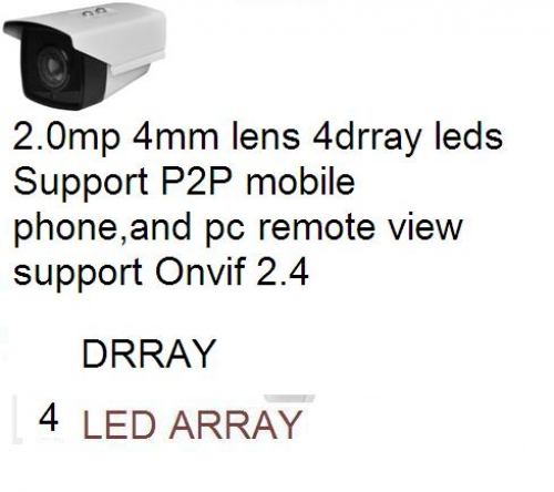 Noname_(chia 2 giảm 10 (x0.9)_Camera IP THÂN 2.0mp 4mm lens 4drray leds Support P2P mobile...