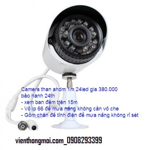 Camera than ahdm 1m 24led gia 380