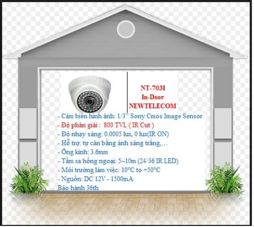Camera NT-703I In-Door NEWTELECOM_Bảo...