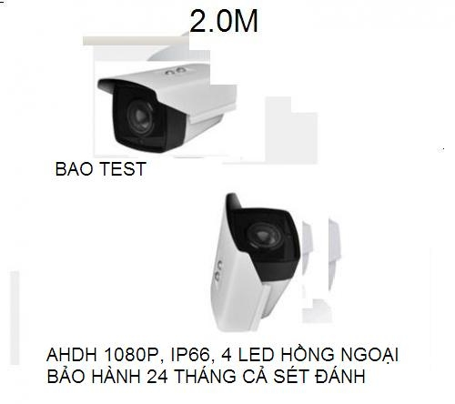 Noname_(chia 2 giảm 10 (x0.9)_CAMERA THÂN HD -2.0mp 4mm lens 4drray leds Support HD transsmision...