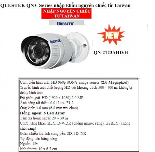 Camera questek  QN-2123AHD/H            ...