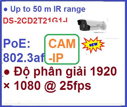 Camera Hikvision_DS-2CD2T21G1-I_ip 2 mega...