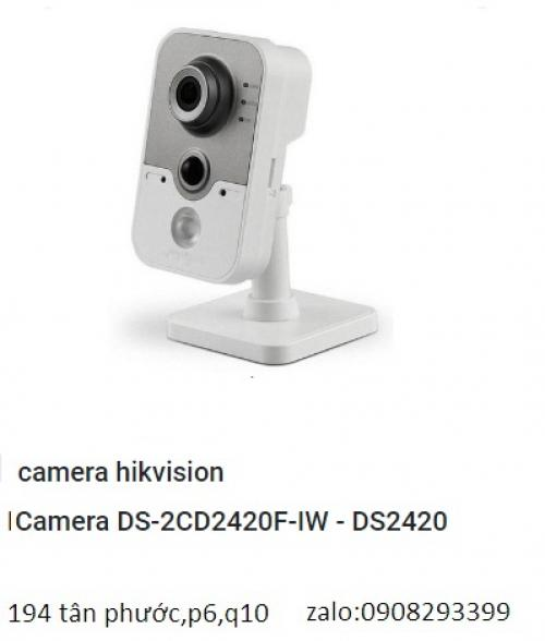 Camera HIKVISION IP DS-2CD2420F-IW (2.0 M,...