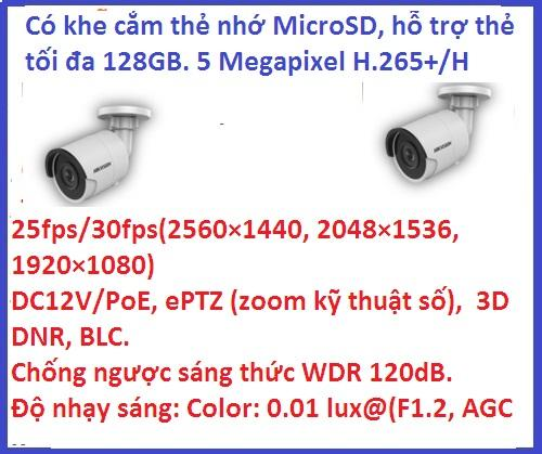Hikvision_DS-2CD2055FWD-I (5 M / H265+)