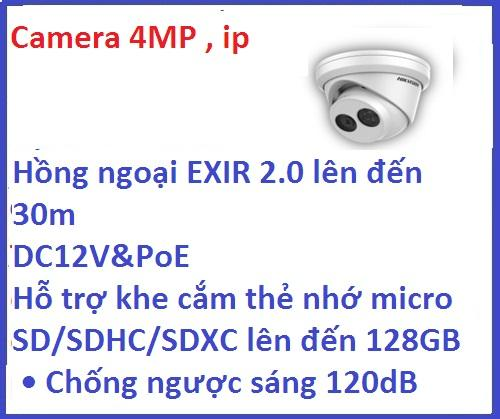 Hikvision_Camera ip_DS-2CD2343G0-I (4 M /...