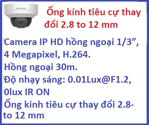 Hikvision_Camera ip_DS-2CD2742FWD-I (4 MP) ...