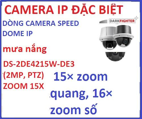 Hikvision_DS-2DE4215W-DE3 (2MP, PTZ) ZOOM 15X