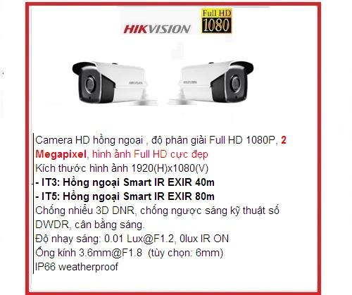 hikvision camera_DS-2CE16D0T-IT5 (HD-TVI 2M)...