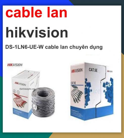 Hikvision cable_DS-1LN6-UE-W cable lan ...