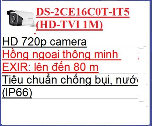 Hikvision_Camera Quan Sát  DS-2CE16C0T-IT5...