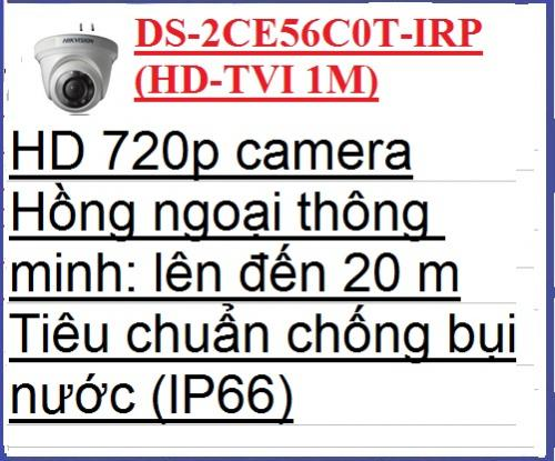 hikvision camera_DS-2CE56C0T-IRP(HD-TVI...