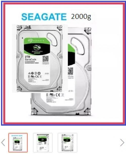 ổ cứng HDD Seagate 2000G (2TB)