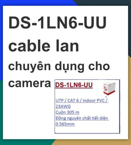 Hikvision cable_DS-1LN6-UU cable lan ...