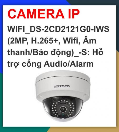 Hikvision camera ip_WIFI_DS-2CD2121G0-IWS...