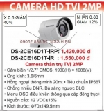 Camera Quan Sát HIKVISION DS-2CE16D1T-IRP(Xin ...