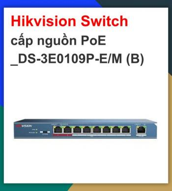 Hikvision Switch cấp nguồn PoE...