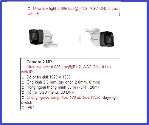hikvision camera_  DS-2CE16D3T-IT CHUYÊN...