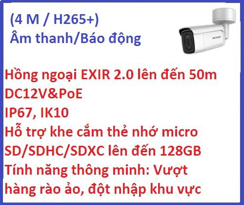 Hikvision_Camera ip_DS-2CD2643G0-IZS (4 M /...